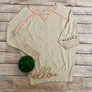 057f5876c9 Ruby Moon Snap Back Sweater by Anthropologie